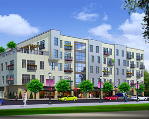 Milhaus - vertical mixed-use and urban infill residential environments